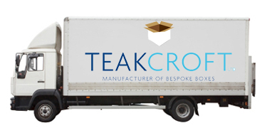 Lorry with logo